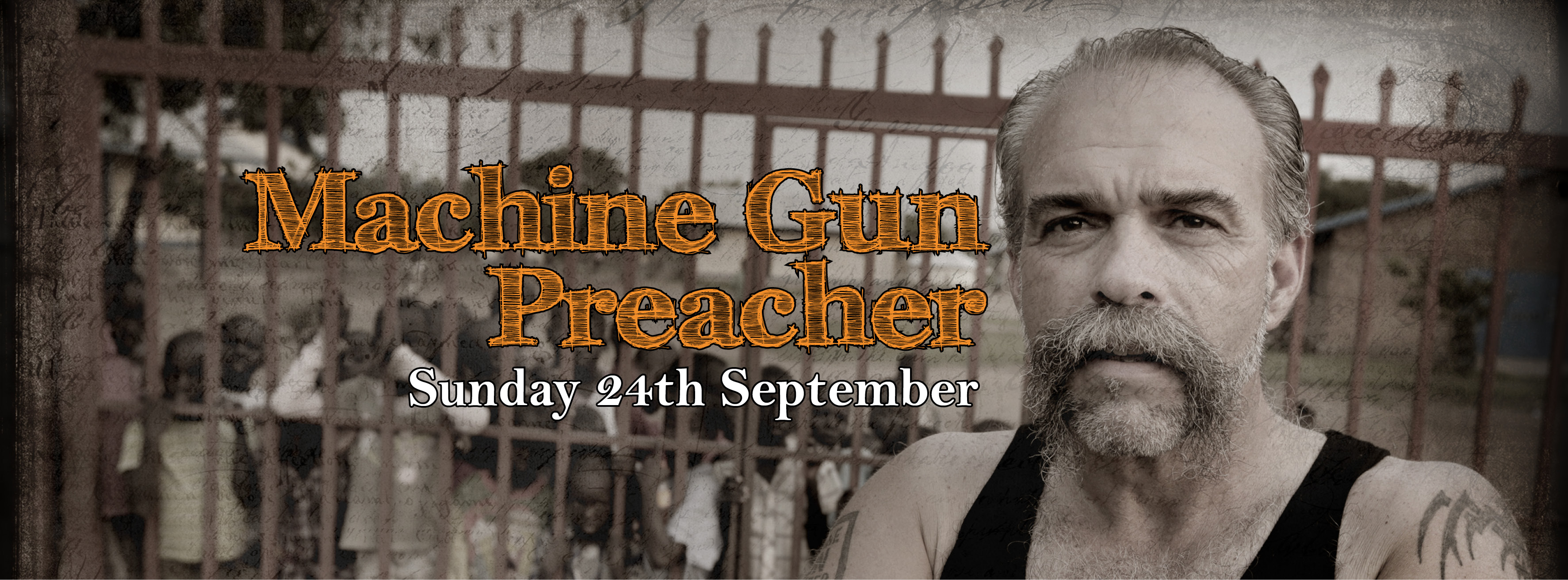 Facebook Event - Machine Gun Preacher for website